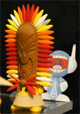 Funkiki Pineapple King - Toy Fair 2008