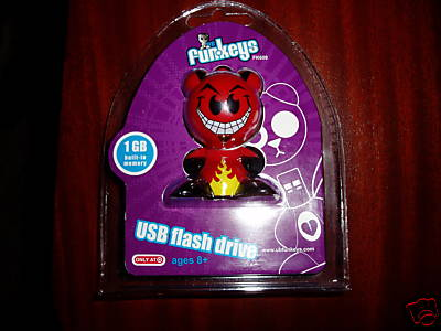 Funkeys Flash Drive