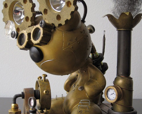 Custom XL Funkey - Steam Punk
