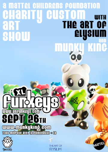 XL Funkeys Custom Show by Mattel and MunkyKing
