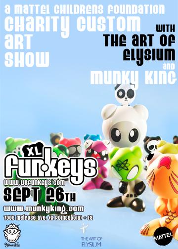 XL Funkeys Custom Show by Mattel and MunkyKing