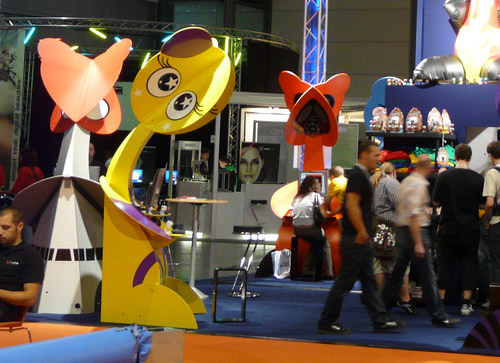 Huge Blow-up Deauce from the Funkeys Booth at UK Toy Show
