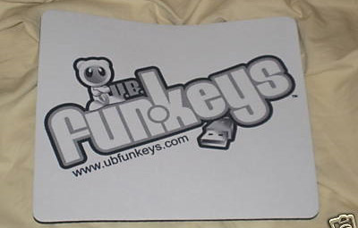 U.B.Funkeys mouse pad Funkeys mousepad