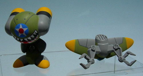 Bomber Plane Inspired Funkey Paradox Green 2009 New York Toyfair