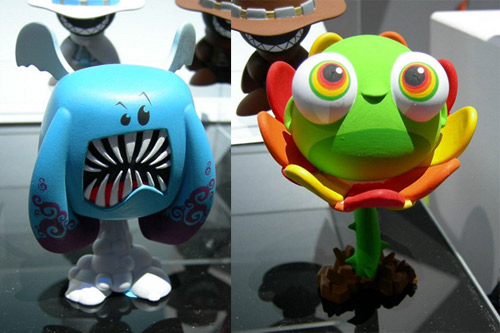 Sneak Peeks at the Dream State Adventure Pack Figures shown at the 2009 New York Toyfair