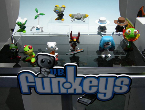 Group Shot of new Funkeys shown at the 2009 New York Toyfair