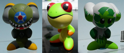 Paradox Green U.B.Funkeys shown at the 2009 New York Toyfair